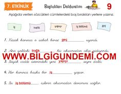 4.Sınıf Engin Yayınları Türkçe Çalışma Kitabı 9.Sayfa Cevapları - OKULSORU