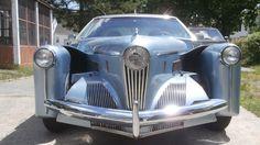 1946 Tucker Torpedo Prototype II Replica build on a 1971 'Boat Tail' Buick Riviera Buick Riviera, Auto Design, Retro Cars, Vintage Cars, Rolls Royce, Tucker Automobile, Hot Rods, Assurance Auto, Futuristic Cars