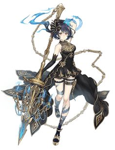 View an image titled 'Alice, Luxury Job Art' in our SINoALICE art gallery featuring official character designs, concept art, and promo pictures. Fantasy Character Design, Character Design Inspiration, Character Concept, Character Art, Girls Characters, Fantasy Characters, Female Characters, Anime Characters, Anime Girl Cute