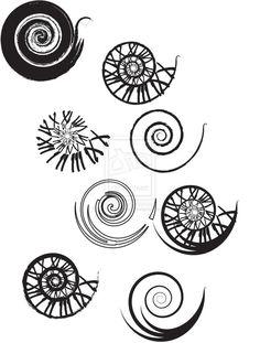 Golden+Spiral+Nautilus+Tattoo   Clockwork Spiral Tattoo Designs by UrbanManitou