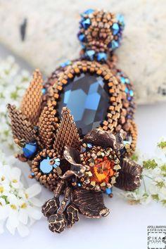 Amazing beaded pendant