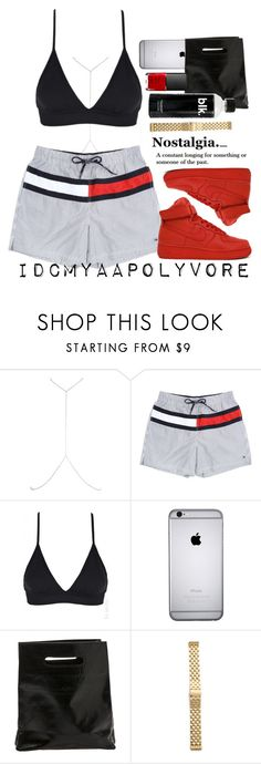 """""""How to get away with murder is my new show"""" by idcmyaa ❤ liked on Polyvore featuring River Island, NIKE, Marie Turnor, Michele and NARS Cosmetics"""