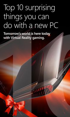 Clean lines and built for the most hardcore of gamers! Get your ASUS ROG 752VL today!