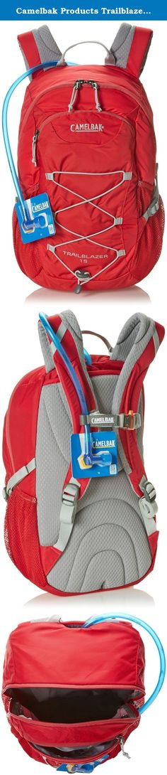 Camelbak Products Trailblazer 15 Hydration Pack, Pomegranate/Silver, 50-Ounce. The Trailblazer 15 is our new hiking pack for young hikers who aren't yet ready for a full-size pack but have outgrown their kid's pack. With a shorter torso length, the Trailblazer 15 is designed to fit kids ages 9 to 13 who are ready to step up to a bigger pack and need the hydration of the included 1.5 liter Antidote Reservoir. Inside the generous main compartment there's a name patch which kids can…