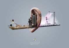 SAMSUNG NOISE REDUCTION PRINT AD on Behance