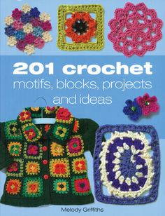 Get the ultimate #crochet book full of over 200 motifs, blocks, projects and ideas. You'll want to work up everything it has to offer!