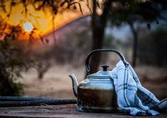 Nothing quite like a bush coffee. BelAfrique - Your Personal Travel Planner - www.belafrique.co.za