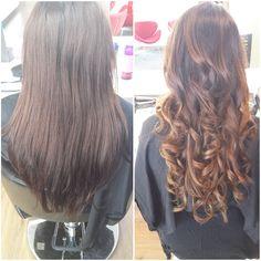 Creative colourist: Amanda from Hue Hair Salon Albany. #Balayage #Ombre