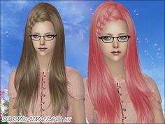 Skysims Hair 128  Found in TSR Category 'Sims 2 Downloads'