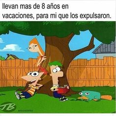 Jaja phineas y ferb Disney And More, Disney Fun, Funny Photos, Funny Images, Phineas Y Ferb, Writing Memes, A Funny, Bts Memes, Nerd