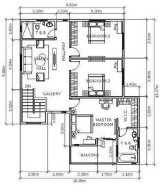 Modern Architecture Design, Architecture Plan, Modern Design, Modern House Floor Plans, Contemporary House Plans, Modern Contemporary, Construction Contract, House Construction Plan, Garage Dimensions