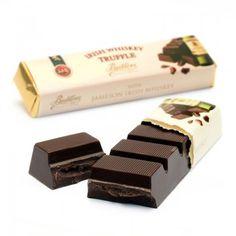 Dark chocolate bar with a rich Jameson Irish Whiskey truffle centre