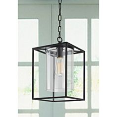 Jojospring La Pedriza Antique Black Finish Glass Chandelier: Give your home a new look with this attractive antique bronze finished fixture. This lighting fixture will illuminate any room with style. [Assembly is required] Glass Chandelier, Glass Lantern, Foyer Decorating, Light, Chandeliers And Pendants, Chandelier, Contemporary Home Decor, Metal Chandelier, Ceiling Lights