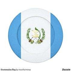 Guatemalan flag pack of small button covers