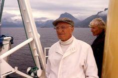 Einar og Eva på Hurtigruten