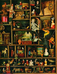 Old toys  This poster was hanging in my antique toy store in the mid-70's. How wonderful to find it again on Pinterest.