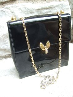 KORET Black Patent Leather Handbag with by worldmarketproductio