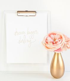 """""""Dream Bigger Darling"""" print"""