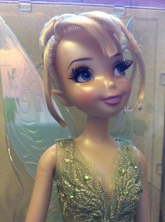 NEW Disney Store Designer Limited Edition Tinkerbell Doll Fairy RARE UK | eBay
