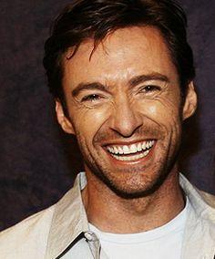 Hugh Jackman.  That grin is irresistible!
