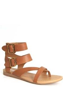 7cd3b31a87a9 Soda Shoes Pound Double Buckle Ankle Strap Sandals for Women in Tan POUND-S-