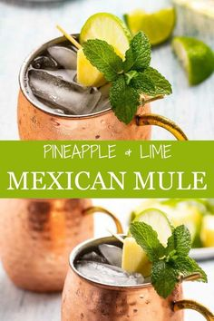 Mexican Cocktails, Beach Cocktails, Spring Cocktails, Cocktail Drinks, Cocktail Recipes, Cocktail Tequila, Margarita Recipes, Tequilla Cocktails, Ginger Cocktails