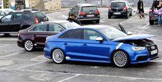 Audi RS 3 Sedan Spied