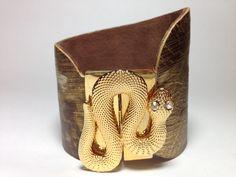 Bracelet Serpente 2 www.artenolook.com.br