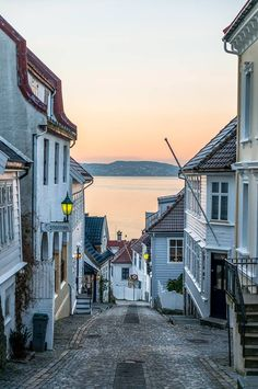 Streets of Bergen. © Paulius Bruzdeilynas