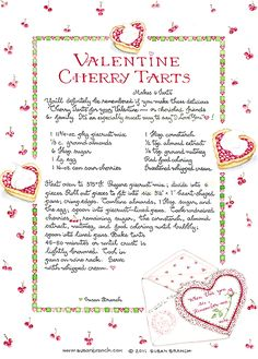 Susan Branch recipe from her wonderful blog
