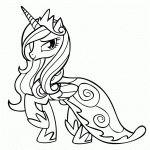 unicornio lindo para colorir