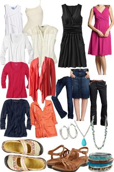 Style Your Life: ideas for travel wardrobe