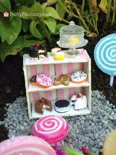 fairy garden bakery, fairy garden ideas, theme fairy garden