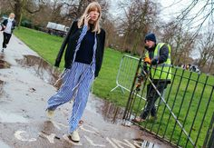 London Fashion Week street style, photographed by Phil Oh