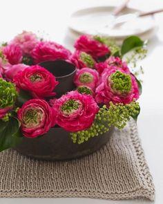 Creative alternatives to a standard flower vase. #SweetPaul