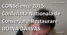 """Un articol din 03-11-2015 , CONScience 2015: Conferinţa Naţională de Conservare Restaurare """"Doina Darvaş"""" .A consemnat, pentru Serviciul de presă LONews si Agentia de stiri Lăcaşuri Ortodoxe®®, parteneri media ai Asociatiei Filiala Arta Religioasa si Restaurare a Uniunii Artiștilor Plastici din România: Claudiu Victor Gheorghiu (foto) - pictor iconar, istoric, consilier al Comitetul Director al  AFAPRR a UAP din România."""