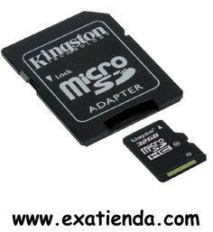 Ya disponible Memoria dg Kingston msd/sd 32gb clase 10   (por sólo 32.95 € IVA incluído):   -Memoria de 32GB marca , compatible con todos los teléfonos móviles del mercado que usen dicho formato y cámaras digitales. - Clase10 - Capacidad:32 GB - Incluye: Blister y adaptador SD. - Compatible con: Micro SD/ SD  Garantía de 24 meses.  http://www.exabyteinformatica.com/tienda/3282-memoria-dg-kingston-msd-sd-32gb-clase-10 #tarjeta #exabyteinformatica