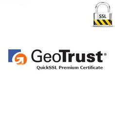 70% off - GeoTrust QuickSSL Premium Certificate at $37. #Website #Security with high encryption