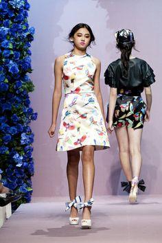 Master's Sun Jardin de Chouette Dress