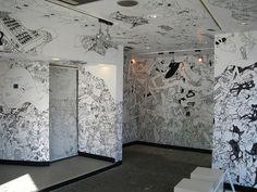 "Japanese Graffiti ""40"" by Nobumasa Takahashi 2009 by Sanctu, via Flickr"