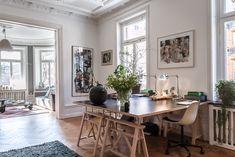decordemon: An eclectic and elegant Swedish apartment