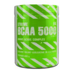 FA Nutrition Xtreme BCAA 5000 400gr. ЦЕНА: 28ЛВ FA Nutrition Xtreme BCAA 5000 е хранителна добавка, осигуряваща оптимална доза висококачествени есенциални аминокиселини и е специално предназначена за бързо и качествено възстановяване след високо-интемзивно и продължително физическо натоварване или тренировка.