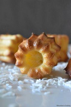 Mini cannelés à la noix de coco, recette Tupperware.
