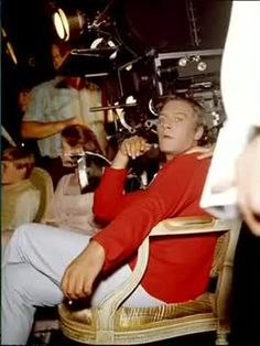 Filming breaks. Christopher Plummer