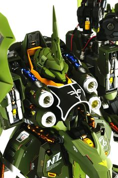 GUNDAM GUY: G-System 1/72 NZ-666 Kshatriya - Painted Build w/ LEDs
