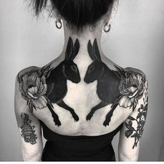 Artist: @pechschwarztattoo To submit your work to the page use the tag #blacktattooartAnd do not forget to share the page!#blackink #darkartist #art #tatuering #tattoo #black #mode #dotwork #linework #ink #summer #love #tattooed #summer #blackworkers   Artist: @blacktattooart