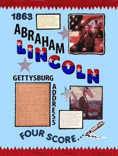 abraham lincoln poster idea make a poster about abraham lincoln for a class project history president wax museum pinterest poster ideas