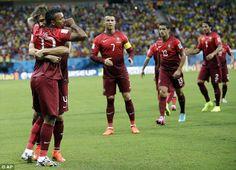 Brasil 2014: USA v/s Portugal Photos | Football Wallpapers