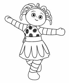 23 In the night garden printable coloring pages for kids. Find on coloring-book thousands of coloring pages. Garden Coloring Pages, Coloring Pages To Print, Printable Coloring Pages, Colouring Pages, Coloring Pages For Kids, Coloring Books, Colouring Sheets, Kids Coloring, Garden Birthday