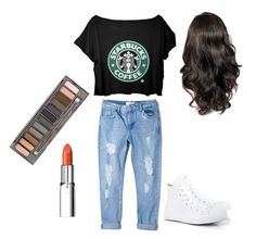 """""""School outfit✨"""" by emiliegulant-1 on Polyvore"""